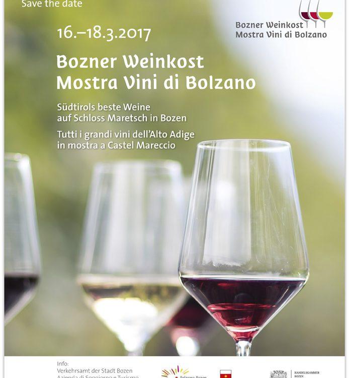 Save the date Bozner Weinkost_Mostra Vini di Bolzano